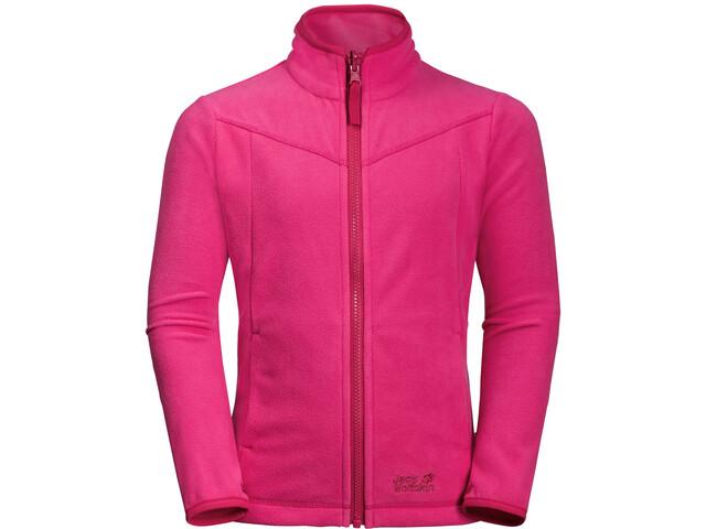 Jack Wolfskin Sandpiper Lapset takki , vaaleanpunainen